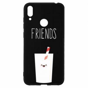 Etui na Huawei Y7 2019 Friend milk
