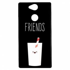 Etui na Sony Xperia XA2 Friend milk