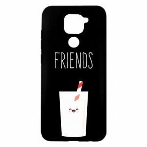Etui na Xiaomi Redmi Note 9/Redmi 10X Friend milk