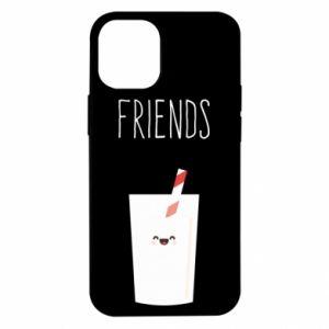 Etui na iPhone 12 Mini Friend milk