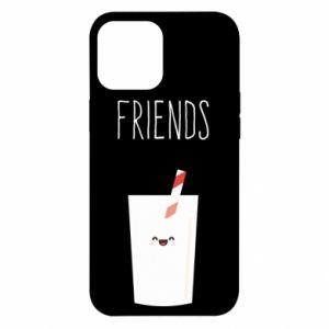 Etui na iPhone 12 Pro Max Friend milk