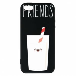 Etui na iPhone 5/5S/SE Friend milk