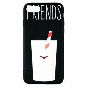 Etui na iPhone 7 Friend milk