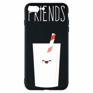 Etui do iPhone 7 Plus Friend milk