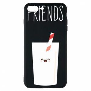 Etui na iPhone 8 Plus Friend milk