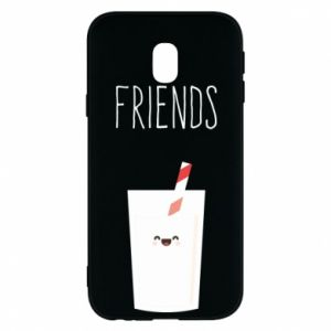 Etui na Samsung J3 2017 Friend milk