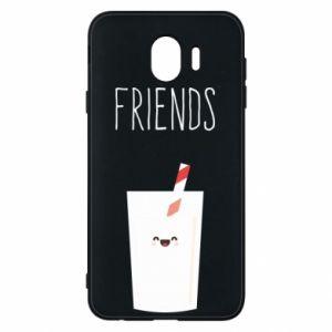 Etui na Samsung J4 Friend milk