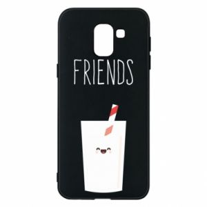 Etui na Samsung J6 Friend milk