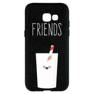Etui na Samsung A5 2017 Friend milk