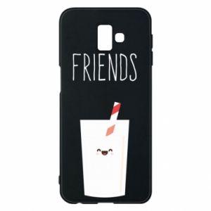 Etui na Samsung J6 Plus 2018 Friend milk