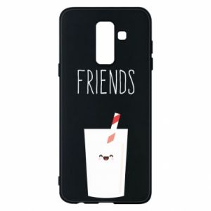 Etui na Samsung A6+ 2018 Friend milk