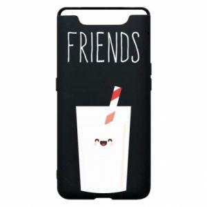 Etui na Samsung A80 Friend milk