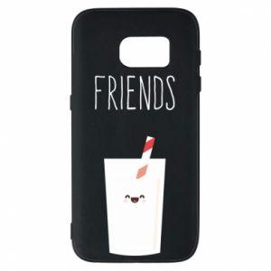 Etui na Samsung S7 Friend milk