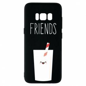 Etui na Samsung S8 Friend milk