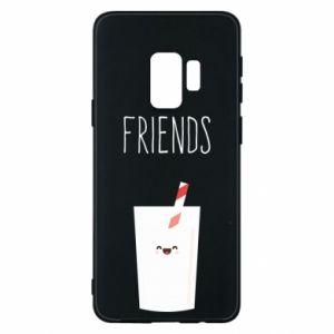 Etui na Samsung S9 Friend milk