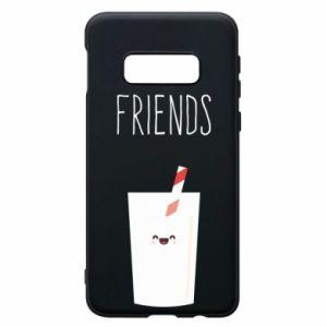 Etui na Samsung S10e Friend milk