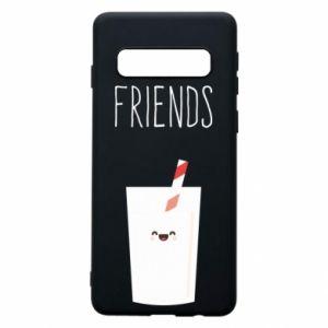Etui na Samsung S10 Friend milk