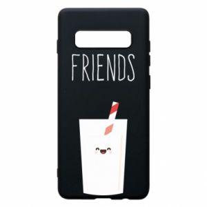 Etui na Samsung S10+ Friend milk