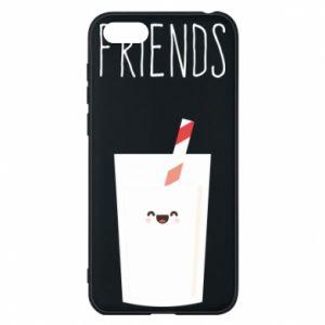 Etui na Huawei Y5 2018 Friend milk