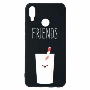 Etui na Huawei P Smart Plus Friend milk