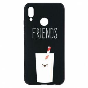 Etui na Huawei P20 Lite Friend milk