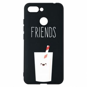 Etui na Xiaomi Redmi 6 Friend milk