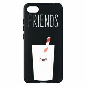 Etui na Xiaomi Redmi 6A Friend milk