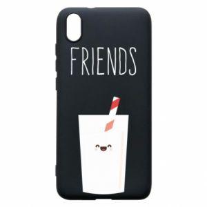 Etui na Xiaomi Redmi 7A Friend milk