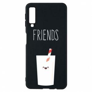 Etui na Samsung A7 2018 Friend milk