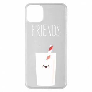 Etui na iPhone 11 Pro Max Friend milk