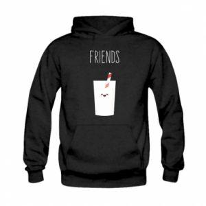 Bluza z kapturem dziecięca Friend milk