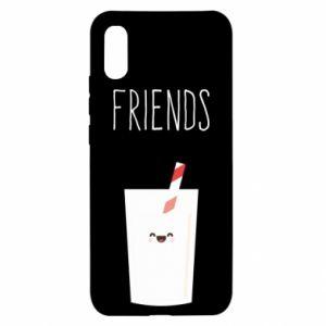 Etui na Xiaomi Redmi 9a Friend milk