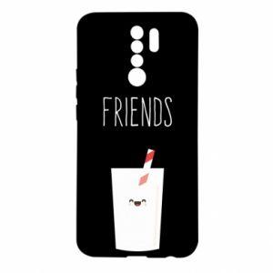Etui na Xiaomi Redmi 9 Friend milk