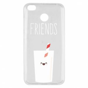 Etui na Xiaomi Redmi 4X Friend milk