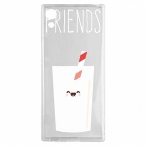 Etui na Sony Xperia XA1 Friend milk