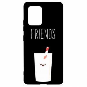 Etui na Samsung S10 Lite Friend milk