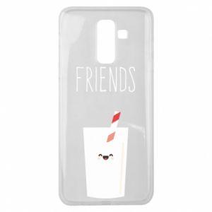 Etui na Samsung J8 2018 Friend milk