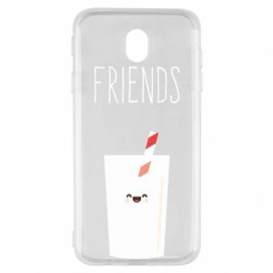 Etui na Samsung J7 2017 Friend milk