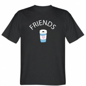 T-shirt Friends coffee