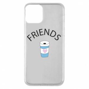Etui na iPhone 11 Friends coffee