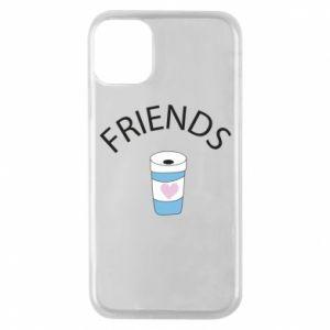 Etui na iPhone 11 Pro Friends coffee
