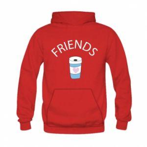 Bluza z kapturem dziecięca Friends coffee
