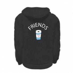 Bluza na zamek dziecięca Friends coffee