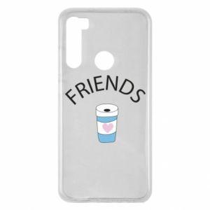 Etui na Xiaomi Redmi Note 8 Friends coffee