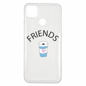 Etui na Xiaomi Redmi 9c Friends coffee