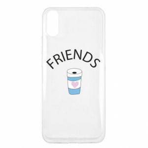 Etui na Xiaomi Redmi 9a Friends coffee