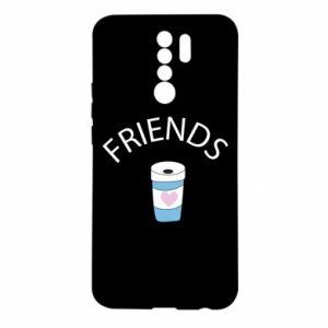 Etui na Xiaomi Redmi 9 Friends coffee