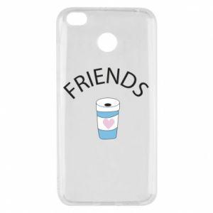 Etui na Xiaomi Redmi 4X Friends coffee