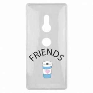 Etui na Sony Xperia XZ2 Friends coffee