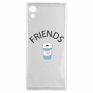 Etui na Sony Xperia XA1 Friends coffee